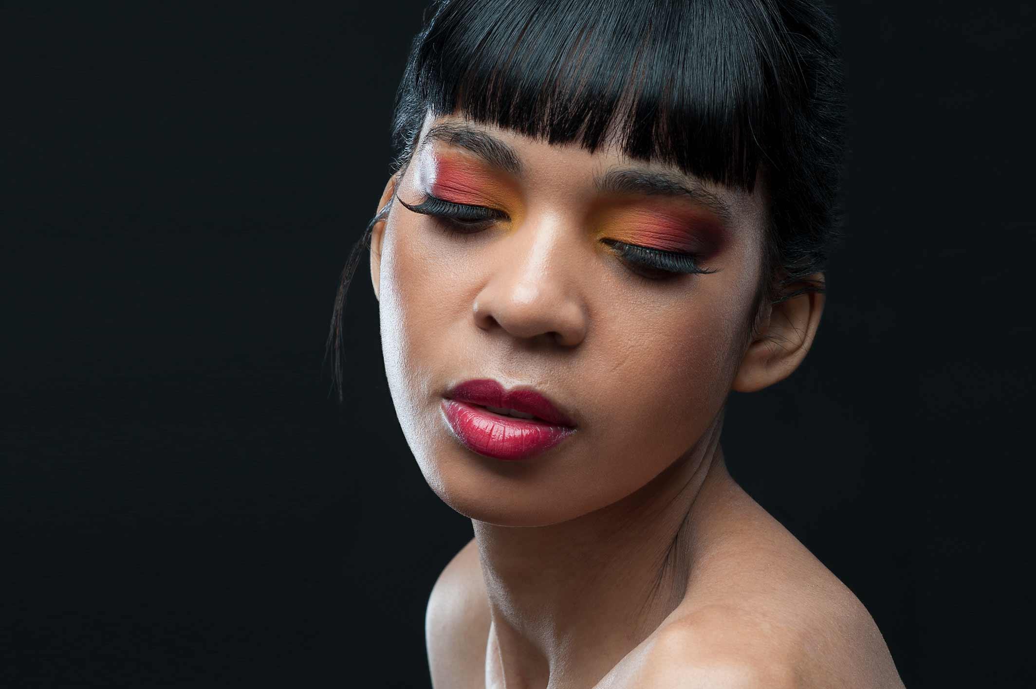 trucco fotografico make up artist studio milano viktoria ryzhkova